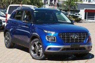 2021 Hyundai Venue QX.V3 MY21 Elite The Denim 6 Speed Automatic Wagon.