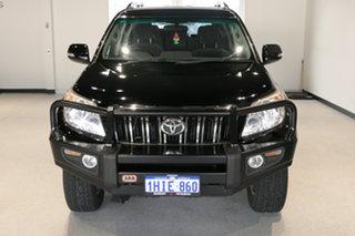 2011 Toyota Landcruiser Prado KDJ150R GXL Black 5 Speed Sports Automatic Wagon.