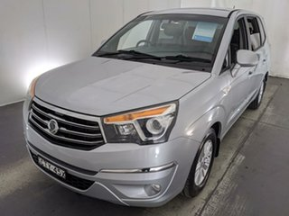 2014 Ssangyong Stavic A100 MY14 Silver 5 Speed Sports Automatic Wagon.