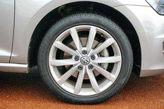 2013 Volkswagen Golf VII 103TSI DSG Highline Silver 7 Speed Sports Automatic Dual Clutch Hatchback