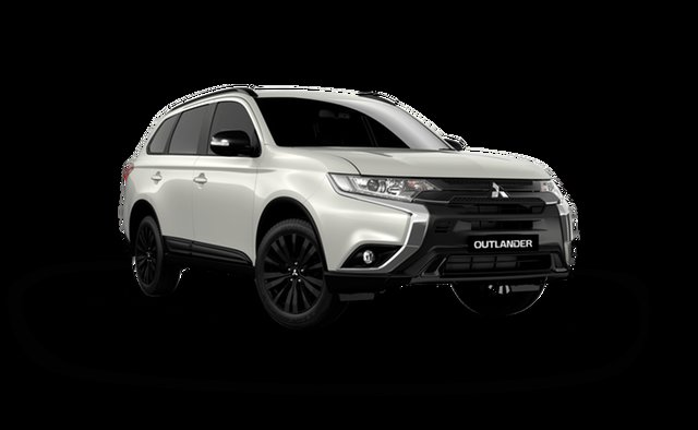 New Mitsubishi Outlander ZL MY21 Black Edition 2WD Hamilton, 2021 Mitsubishi Outlander ZL MY21 Black Edition 2WD Starlight 6 Speed Constant Variable Wagon
