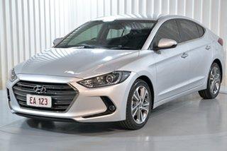 2017 Hyundai Elantra AD MY17 Elite Silver 6 Speed Sports Automatic Sedan.