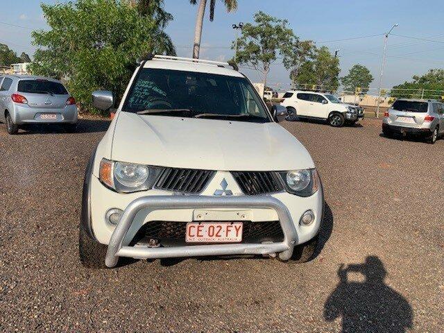 Used Mitsubishi Triton GLX-R Pinelands, 2007 Mitsubishi Triton GLX-R White 4 Speed Auto Active Select Dual Cab