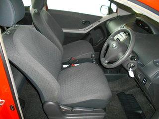 2008 Toyota Yaris NCP90R YR Red 5 Speed Manual Hatchback