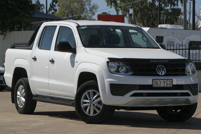 Used Volkswagen Amarok 2H MY18 TDI400 4MOT Core Bundamba, 2018 Volkswagen Amarok 2H MY18 TDI400 4MOT Core Candy White 6 Speed Manual Utility