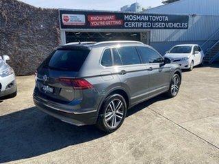 2018 Volkswagen Tiguan 5NA MY19 162 TSI Highline Grey 7 Speed Auto Direct Shift Wagon.