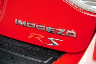 2009 Subaru Impreza G3 MY09 RS AWD Red 4 Speed Sports Automatic Hatchback