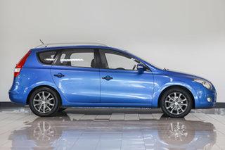 2010 Hyundai i30 FD MY11 Trophy cw Wagon Blue 4 Speed Automatic Wagon