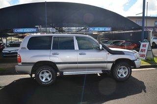 2002 Toyota Landcruiser HDJ100R GXL (4x4) Beige 5 Speed Manual 4x4 Wagon.