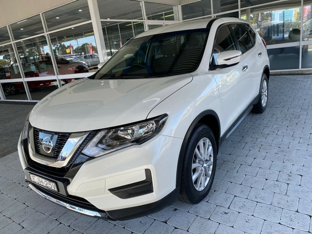 Used Nissan X-Trail ST Taree, 2019 Nissan X-Trail ST White Constant Variable Wagon