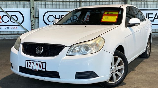 Used Holden Epica EP MY09 CDX Rocklea, 2008 Holden Epica EP MY09 CDX White 6 Speed Sports Automatic Sedan