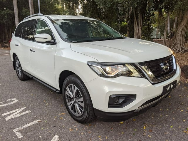 Used Nissan Pathfinder R52 Series II MY17 ST X-tronic 2WD Stuart Park, 2017 Nissan Pathfinder R52 Series II MY17 ST X-tronic 2WD White 1 Speed Constant Variable Wagon