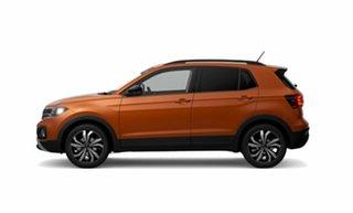 2021 Volkswagen T-Cross C1 MY21 85TSI DSG FWD CityLife Orange 7 Speed Sports Automatic Dual Clutch.
