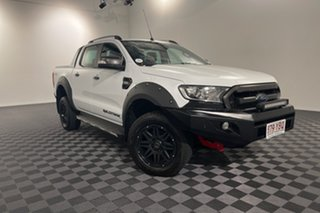 2018 Ford Ranger PX MkII 2018.00MY Wildtrak Double Cab White 6 speed Automatic Utility.
