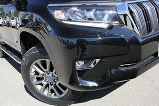 2019 Toyota Landcruiser Prado GDJ150R VX Eclipse Black 6 Speed Sports Automatic Wagon.