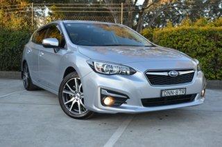2016 Subaru Impreza G5 MY17 2.0i Premium CVT AWD Silver, Chrome 7 Speed Constant Variable Hatchback.