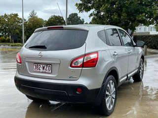 2012 Nissan Dualis J10 Series II MY2010 Ti Hatch X-tronic Silver 6 Speed Constant Variable Hatchback