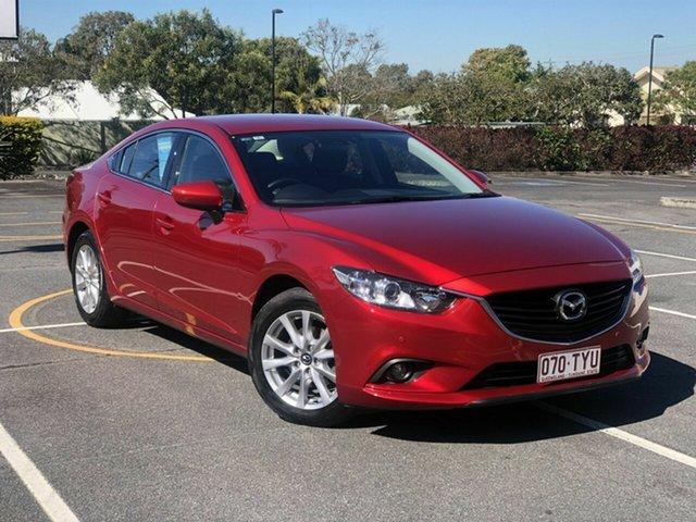 Used Mazda 6 GJ1031 Sport SKYACTIV-Drive Chermside, 2014 Mazda 6 GJ1031 Sport SKYACTIV-Drive Red 6 Speed Sports Automatic Sedan