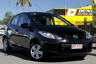 2007 Mazda 2 DY10Y2 Neo Brilliant Black 4 Speed Automatic Hatchback.