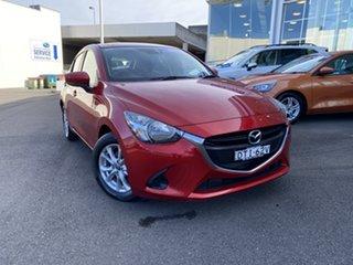 2017 Mazda 2 DJ2HAA Maxx SKYACTIV-Drive Red 6 Speed Sports Automatic Hatchback.