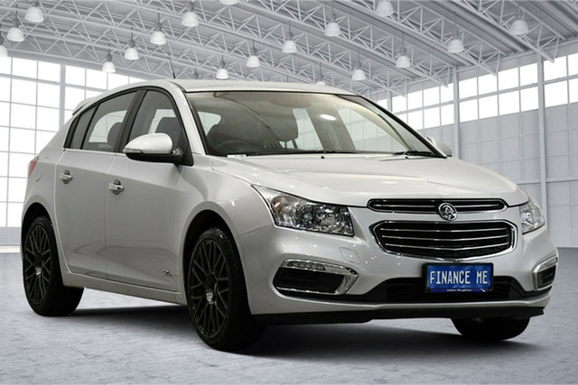Used Holden Cruze JH Series II MY16 Z-Series Victoria Park, 2016 Holden Cruze JH Series II MY16 Z-Series Silver 6 Speed Sports Automatic Hatchback