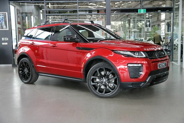 Used Land Rover Range Rover Evoque L538 MY18 HSE Dynamic North Melbourne, 2018 Land Rover Range Rover Evoque L538 MY18 HSE Dynamic Red 9 Speed Sports Automatic Wagon