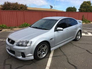 2011 Holden Commodore VE II SV6 Silver 6 Speed Sports Automatic Sedan.