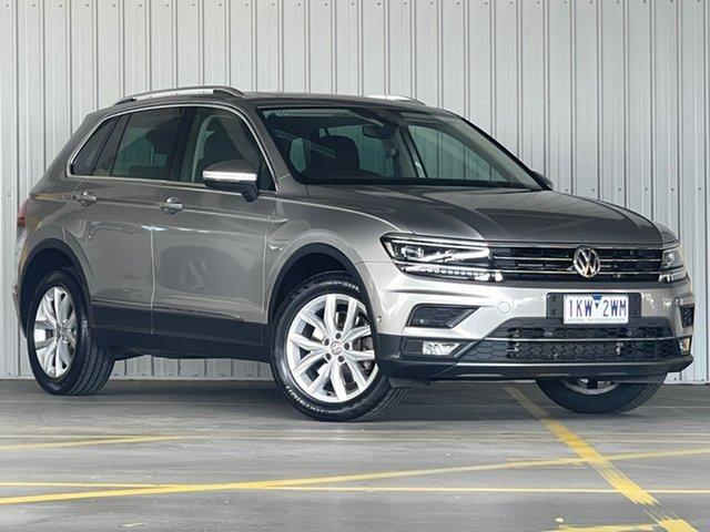 Used Volkswagen Tiguan 5N MY17 140TDI DSG 4MOTION Highline Moorabbin, 2017 Volkswagen Tiguan 5N MY17 140TDI DSG 4MOTION Highline Silver 7 Speed