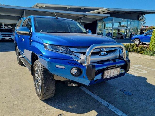 Demo Mitsubishi Triton MR MY20 GLX-R Double Cab Yamanto, 2020 Mitsubishi Triton MR MY20 GLX-R Double Cab Blue 6 Speed Sports Automatic Utility