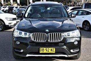 2015 BMW X3 F25 LCI MY0414 xDrive20i Steptronic Black 8 Speed Automatic Wagon.