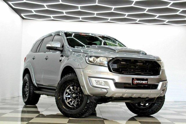 Used Ford Everest UA MY18 Trend (RWD) Burleigh Heads, 2018 Ford Everest UA MY18 Trend (RWD) Grey 6 Speed Automatic SUV