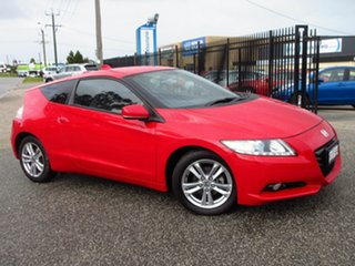 2012 Honda CR-Z Luxury Hybrid Red Continuous Variable Coupe.
