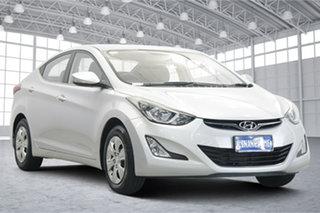 2015 Hyundai Elantra MD3 Active Sleek Silver 6 Speed Sports Automatic Sedan.