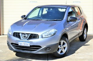 2012 Nissan Dualis J10W Series 3 MY12 ST Hatch X-tronic 2WD Grey 6 Speed Constant Variable Hatchback.