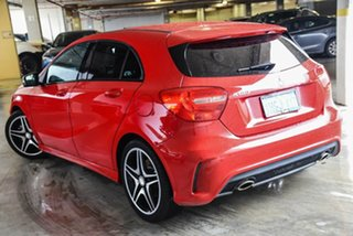 2015 Mercedes-Benz A-Class W176 806MY A180 D-CT Red 7 Speed Sports Automatic Dual Clutch Hatchback.