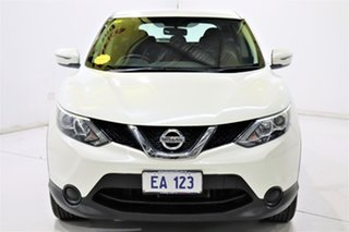 2016 Nissan Qashqai J11 ST Ivory 1 Speed Constant Variable Wagon.