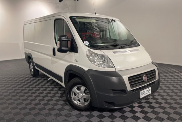 Used Fiat Ducato Series II MY12 Low Roof MWB MTA Acacia Ridge, 2014 Fiat Ducato Series II MY12 Low Roof MWB MTA White 6 speed Automatic Van