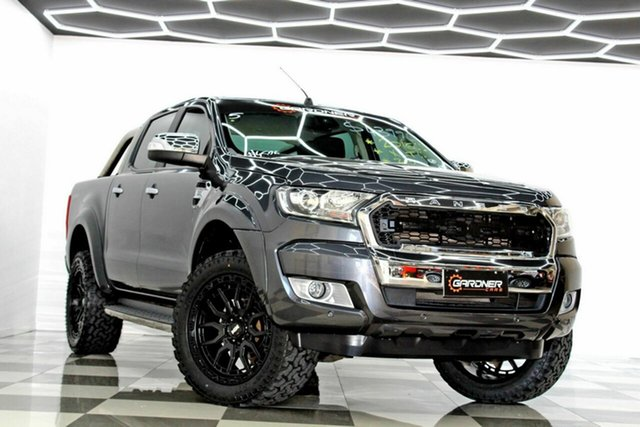 Used Ford Ranger PX MkII MY17 XLT 3.2 Hi-Rider (4x2) Burleigh Heads, 2016 Ford Ranger PX MkII MY17 XLT 3.2 Hi-Rider (4x2) Grey 6 Speed Automatic Crew Cab Pickup