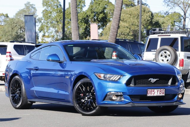 Used Ford Mustang FM 2017MY GT Fastback SelectShift North Lakes, 2017 Ford Mustang FM 2017MY GT Fastback SelectShift Blue 6 Speed Sports Automatic Fastback