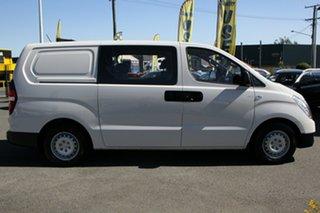 2015 Hyundai iLOAD TQ3-V Series II MY16 Crew Cab Creamy White 5 Speed Automatic Van
