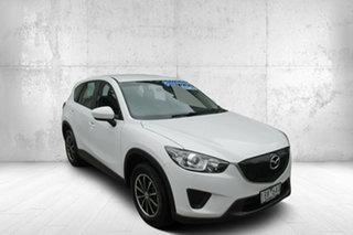 2014 Mazda CX-5 KE1071 MY14 Maxx SKYACTIV-MT White 6 Speed Manual Wagon.