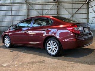 2013 Honda Civic 9th Gen Ser II MY13 VTi-L Red 5 Speed Sports Automatic Sedan