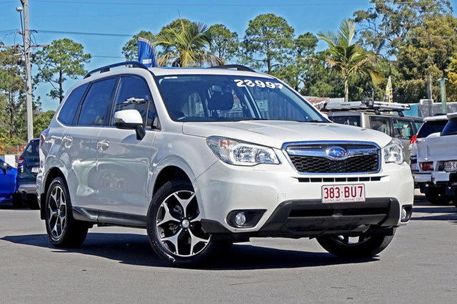 Used Subaru Forester S4 MY13 2.0D AWD Chandler, 2013 Subaru Forester S4 MY13 2.0D AWD White 6 Speed Manual Wagon