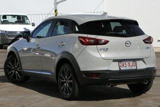 2017 Mazda CX-3 DK4WSA Akari SKYACTIV-Drive i-ACTIV AWD Ceramic 6 Speed Sports Automatic Wagon.