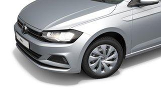 2021 Volkswagen Polo AW MY21 85TSI DSG Style Reflex Silver 7 Speed Sports Automatic Dual Clutch