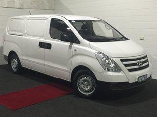 2017 Hyundai iLOAD TQ3-V Series II MY17 Creamy White 6 Speed Manual Van.