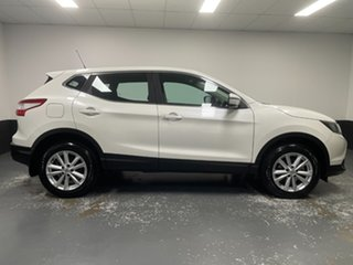 2017 Nissan Qashqai J11 ST Ivory Pearl 1 Speed Constant Variable Wagon