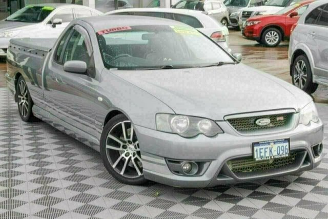 Used Ford Performance Vehicles F6 Tornado BF Attadale, 2006 Ford Performance Vehicles F6 Tornado BF Silver 6 Speed Sports Automatic Utility