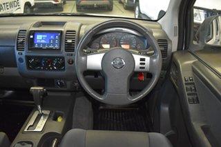 2011 Nissan Navara D40 ST (4x4) White 5 Speed Automatic Dual Cab Pick-up