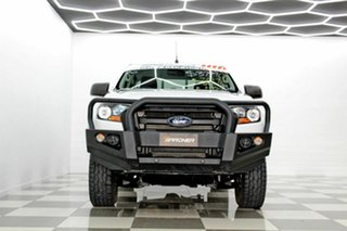 2017 Ford Ranger PX MkII MY18 XL 2.2 (4x4) White 6 Speed Automatic Crew Cab Utility